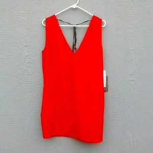 NWT Vasia by Ulla Johnson | Red vneck tunic small
